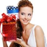 А вам мужчины дарят много подарков?