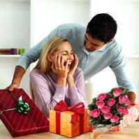 А какие подарки вам дарили парни